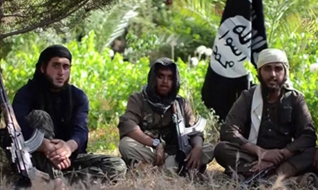 Islamic State group militants. (File photo: AFP)