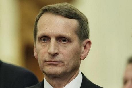 Russian Parliament Speaker