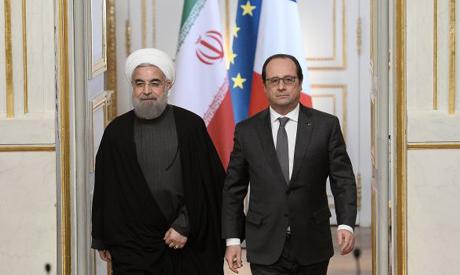 Rouhani, Hollande