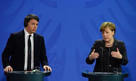 Merkel, Renzi