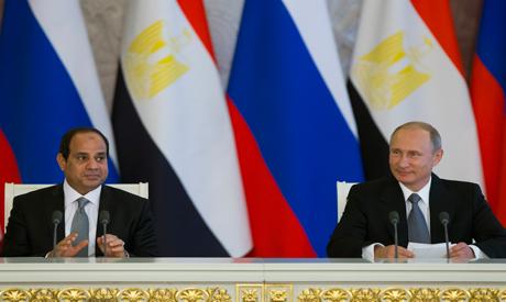 El-Sisi and Putin