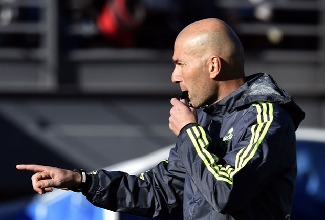 PHOTO GALLERY: Zinedine Zidane as Real Madrid coach for first time