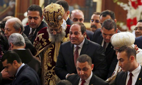 Egypt's Sisi attends Coptic Christmas mass for second straight ...