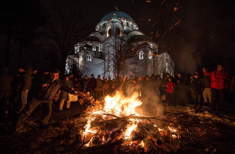 Gallery orthodox christians around the world celebrate christmas