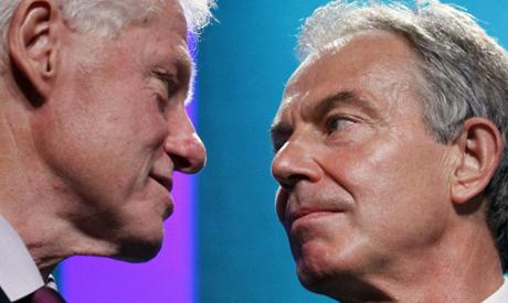 Clinton, Blair