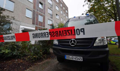 Germany police attack