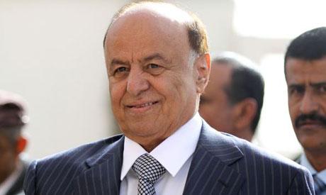 Yemeni President Abedrabbo Mansour