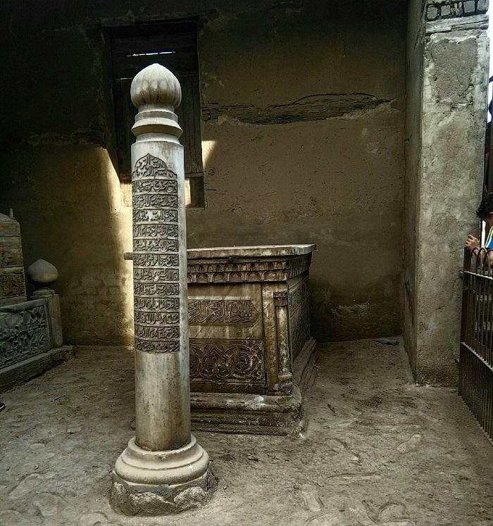 Mohamed Farid tomb stone