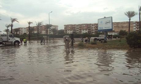 Hurghada flooded streets