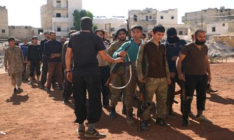 Syria rebels in Aleppo