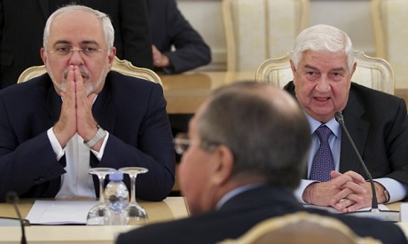 Zarfi, Lavrov and Moallem