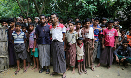 Rohingya Muslim men