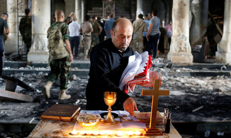 First Mass in Iraq since two years