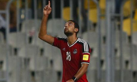 Egypt striker Ahmed Hassan Kouka (Al-Ahram)