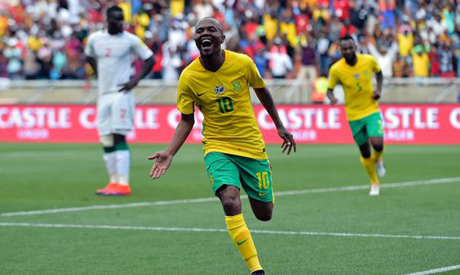 South Africa beat Senegal, Uganda go top in Egypt's group in