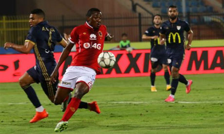 Ahly forward Junior Ajayi (Photo: Ahram)