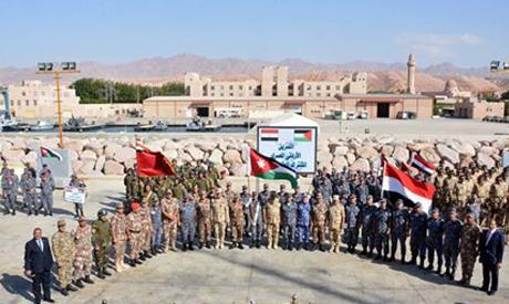 Egyptian, Jordanian armed forces