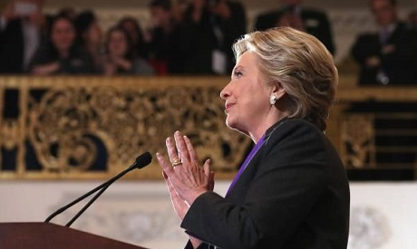 In concession speech, Hillary Clinton gives nation its smooth transition