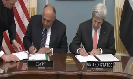 Shoukry and Kerry
