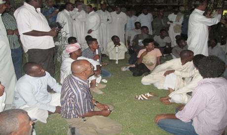Nubian activists