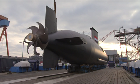 Egypt receives first Type-209 submarine from Germany