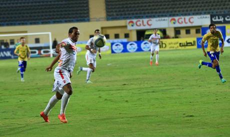 Zamalek players (Al-Ahram)
