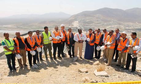 Saudi delegation at GERD