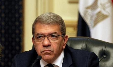 Finance Minister Amr El-Garhy