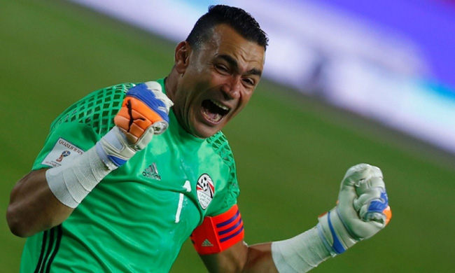 Egypt keeper Hadary, oldest player in AFCON history, remains as reliable as ever