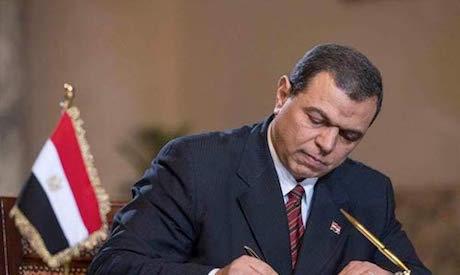 Egypt minister of manpower