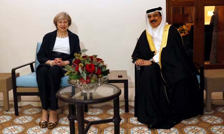 Gulf Arab leaders, British PM gather for talks in Bahrain