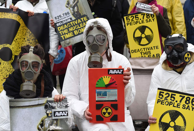 PHOTO GALLERY: Anti-nuclear activists protest against
