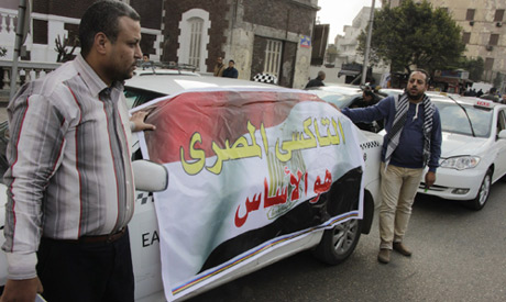 Cairo taxi drivers