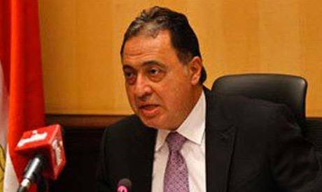 Egypt's health minister Ahmed Emad El-Din