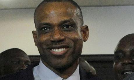 Nigeria manager Sunday Oliseh (REUTERS)