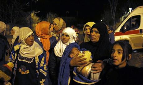 Besieged Syrians