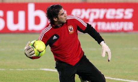 Sherif Ekramy goalkeeper of Egypt