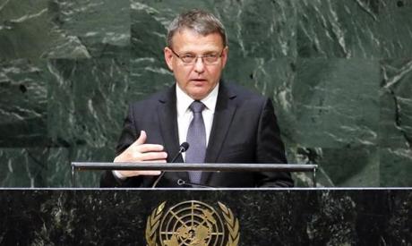 Czech Foreign Minister Lubomír Zaorálek