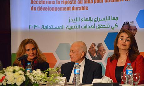 yousra UNAIDS Goodwill Ambassador