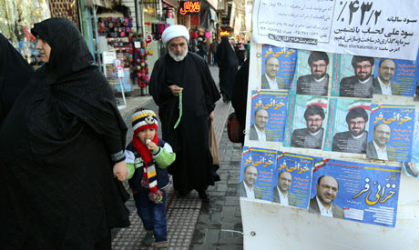 parliamentary elections in Iran (AFP)