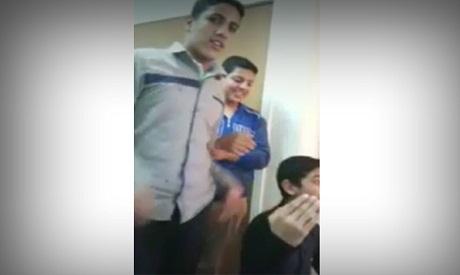 Coptic students