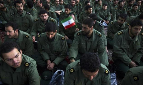 Iranian guards