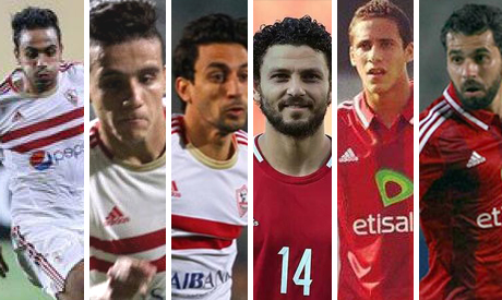 Cairo derby key players