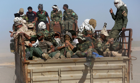 Iraq fight IS group