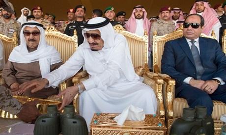 Salman, Sisi, Al-Sabah