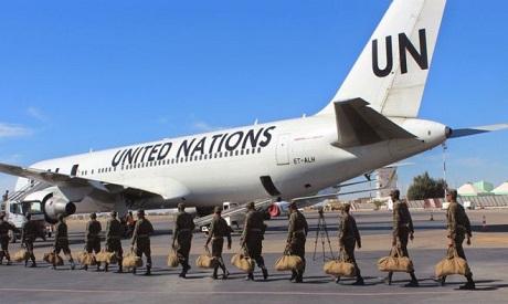 UN Peacekeeping troops