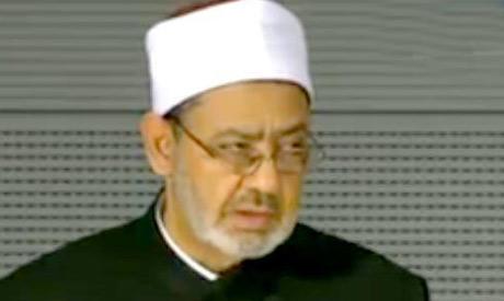 Azhar's grand imam Ahmed El Taaib (Reuters)