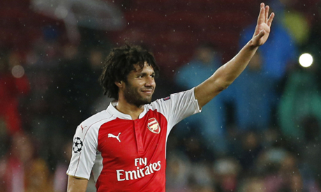 Arsenal's Mohamed Elneny (AP)