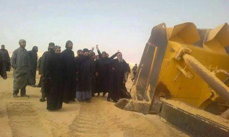Monks in Fayoum
