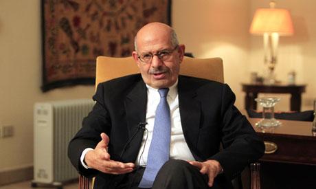 Former vice president Mohamed ElBaradei (Reuters)
